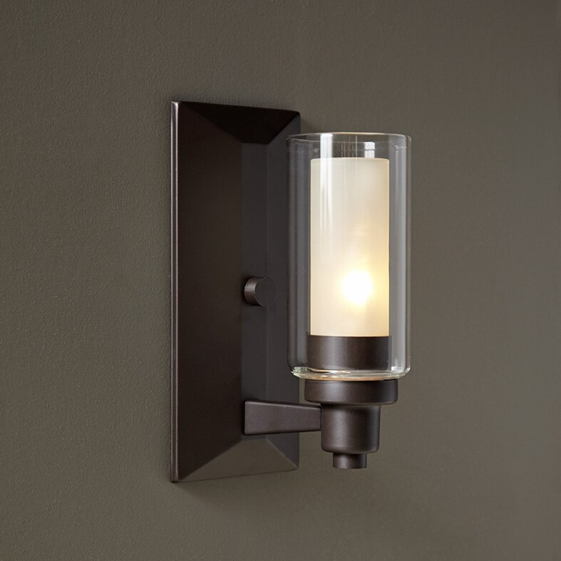 Wall Sconce Light With Switch: Birch Lane™ Gramercy 1-Light Armed Sconce & Reviews
