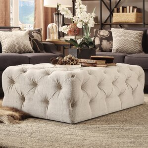 bourges rectangular tufted cocktail ottoman
