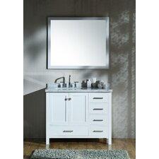 """Laureldale 43"""" Single Bathroom Vanity with Mirror (Set of 3)"""