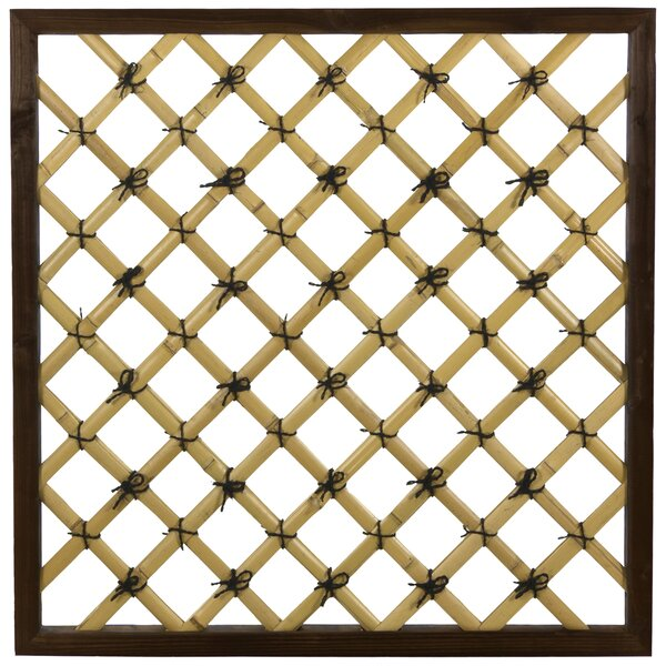 - Oriental Furniture Traditional Wood Lattice Panel Trellis Wayfair