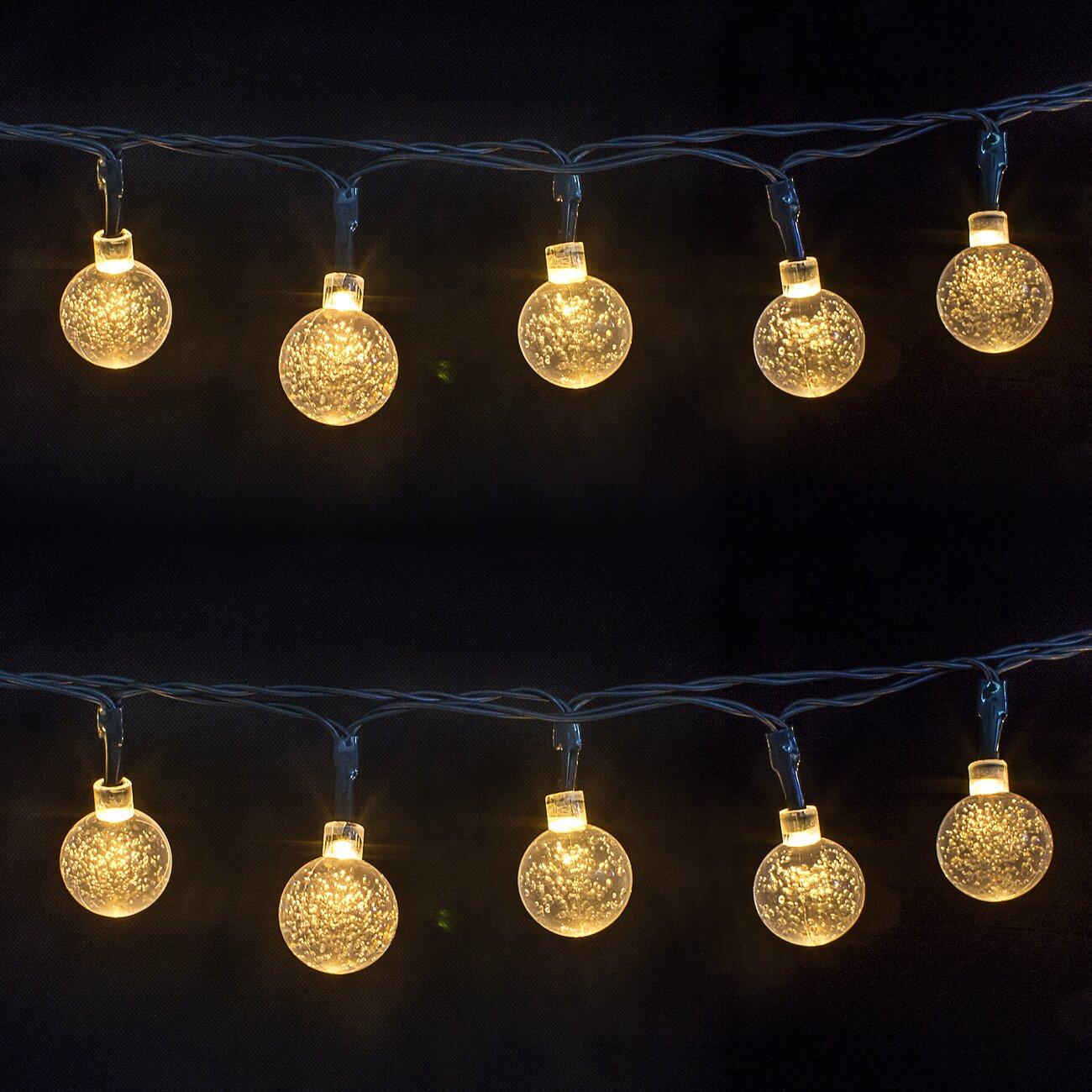 LED Concepts 30-Light 16 ft. Globe String Lights & Reviews Wayfair.ca