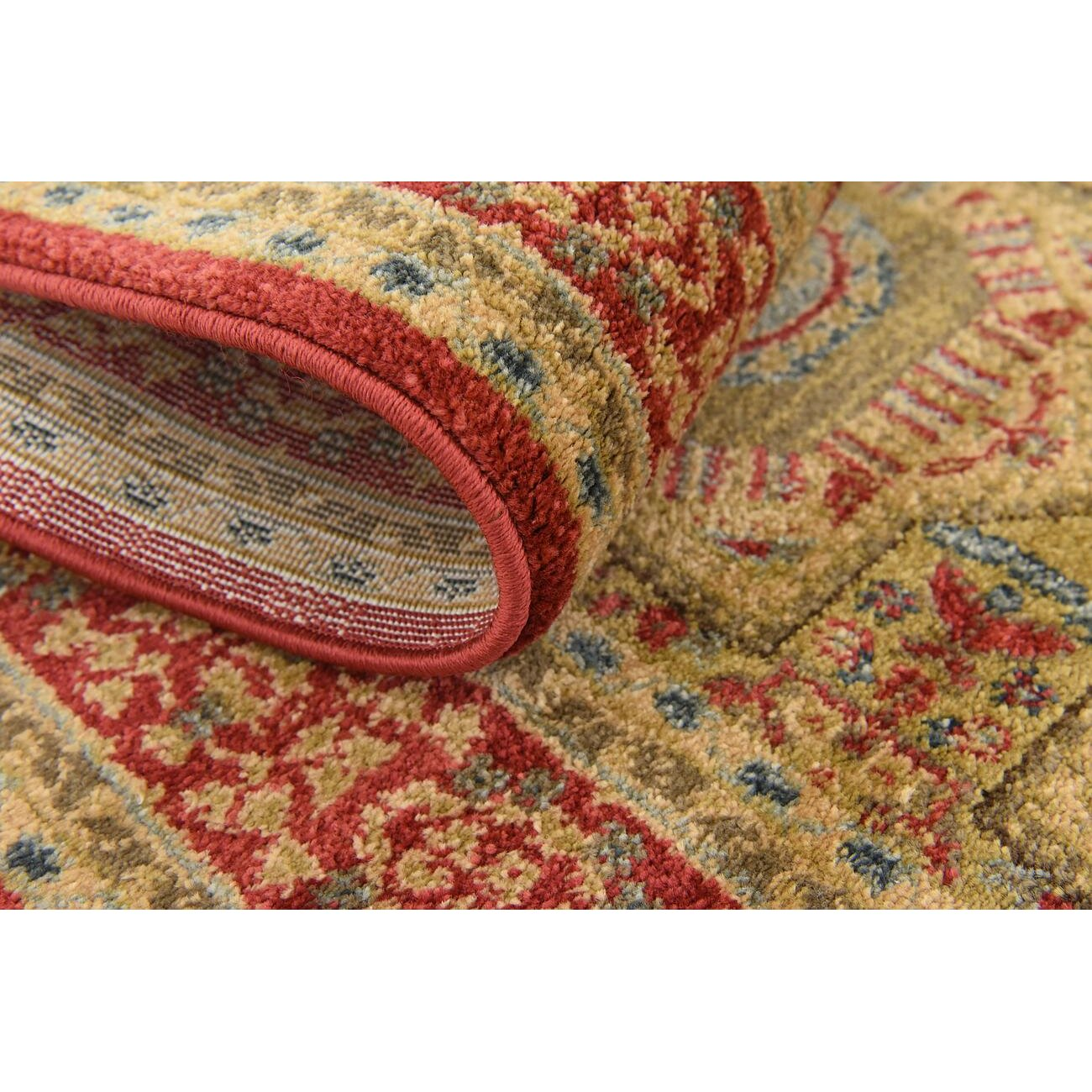 Laurelwood red area rug reviews birch lane for Laurelwood