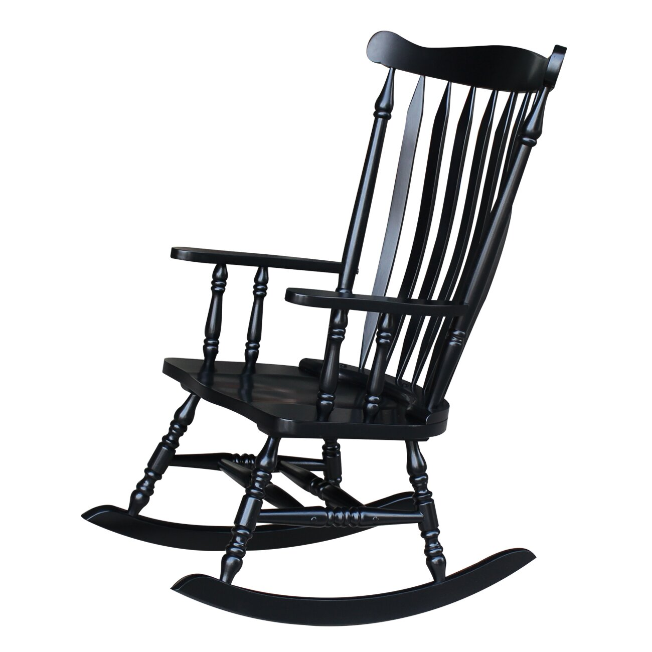 international concepts rocking chair reviews wayfair. Black Bedroom Furniture Sets. Home Design Ideas