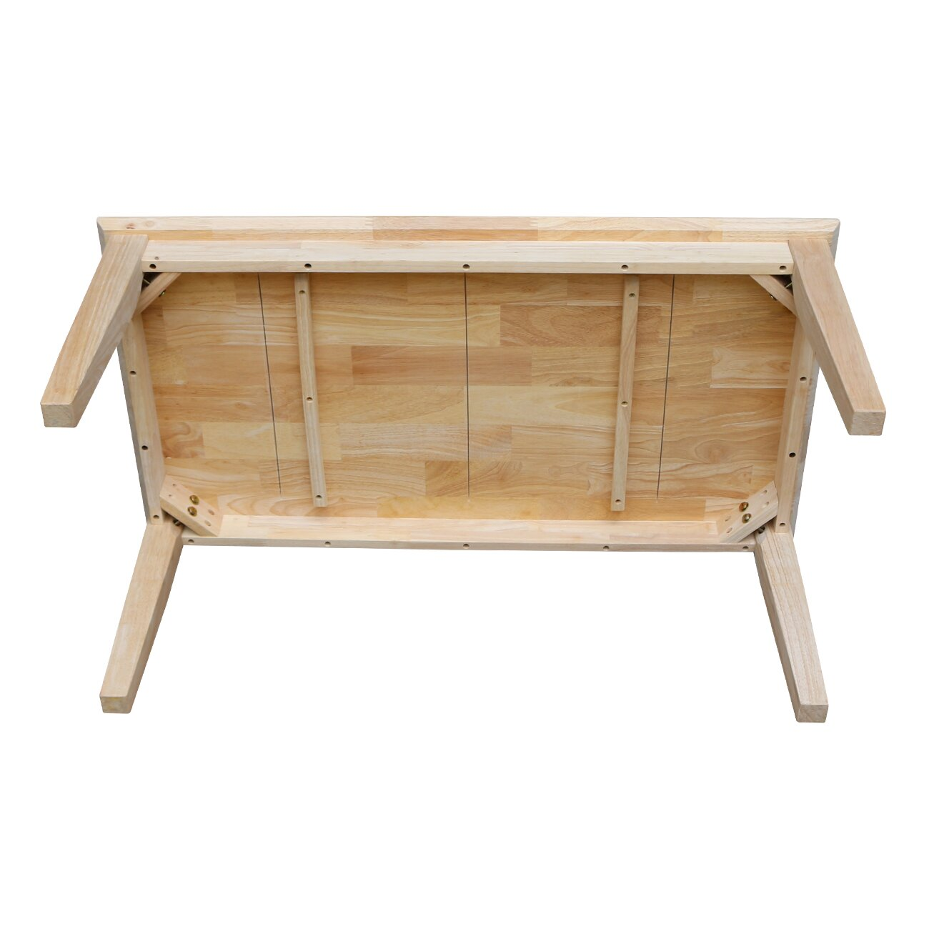 Unfinished Wood Shaker Tall Coffee Table - International Concepts Unfinished Wood Shaker Tall Coffee Table