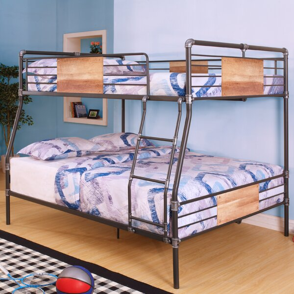 acme furniture brantley full xl over queen bunk bed & reviews
