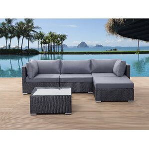 Danbury Deep Seating Sectional With Cushions