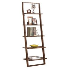 """Traynor 72"""" Leaning Bookcase"""