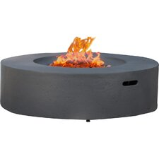 bryant gas fire pit table with tank holder