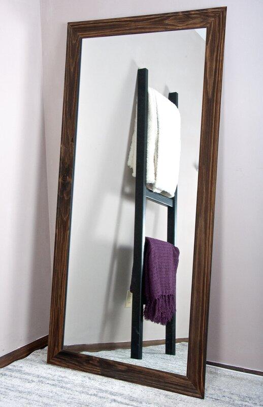 Tall Wall Mirror american value urban wood tall vanity wall mirror & reviews | wayfair
