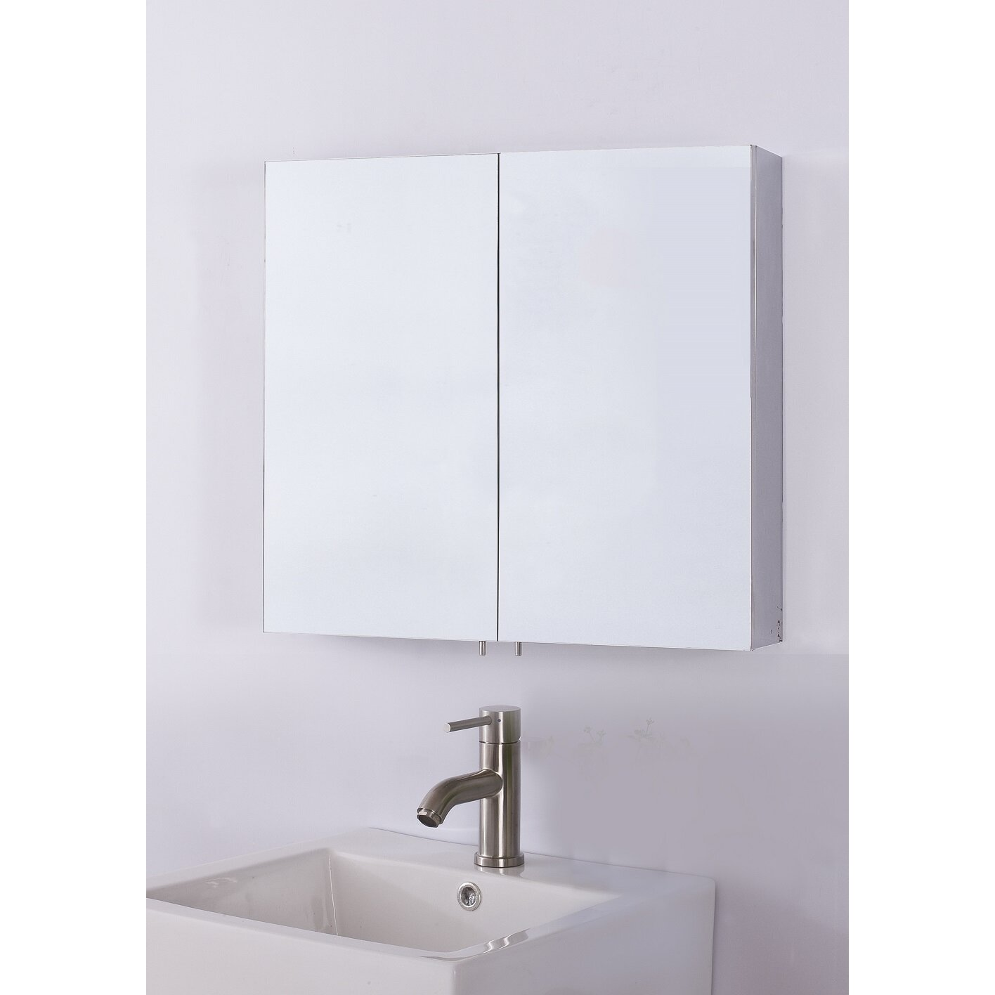 Bathroom medicine cabinets recessed - 23 6 X 22 Recessed Or Surface Mount Medicine Cabinet