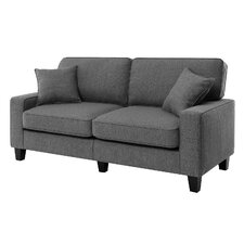 """Conway 73"""" Track Arm Loveseat"""