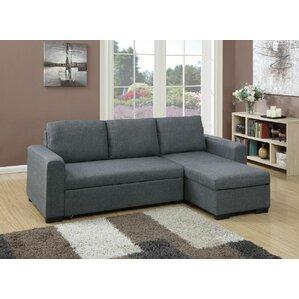 Chaise Sofa Sectional Sofas You\'ll Love | Wayfair