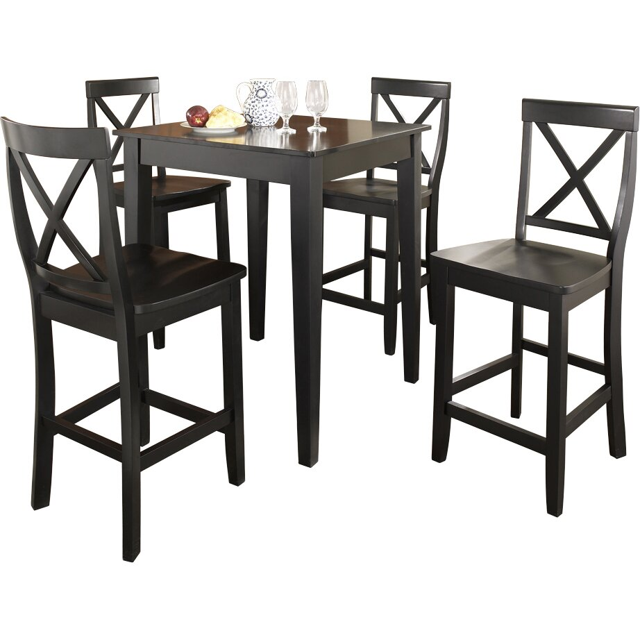 crosley 5 piece counter height pub set reviews