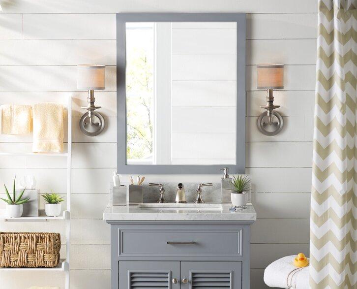 bath & powder room lighting you'll love | wayfair