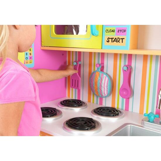 KidKraft Deluxe Big & Bright Kitchen Play Set & Reviews