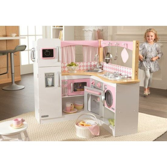 Five Corners Kitchen: KidKraft Grand Gourmet Corner Kitchen & Reviews