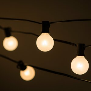 100 Light Globe String Lights