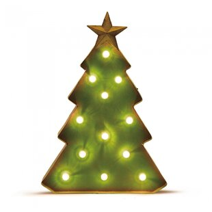 holiday marquee tabletop tree - How To Decorate A Small Christmas Tree