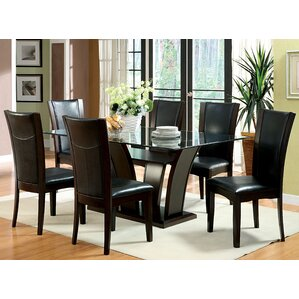 Uptown 7 Piece Dining Set by Hokku Designs