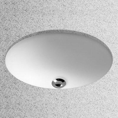 vitreous china oval undermount bathroom sink with overflow - Undermount Bathroom Sink Oval