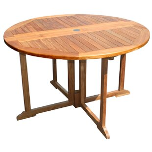 Charmant Butterfly Teak Chat Table