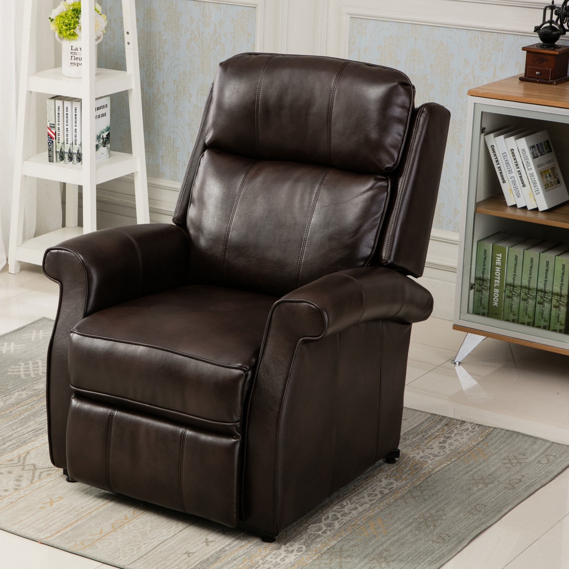 Comfort Pointe Lehman Leather Power Lift Assist Recliner Reviews
