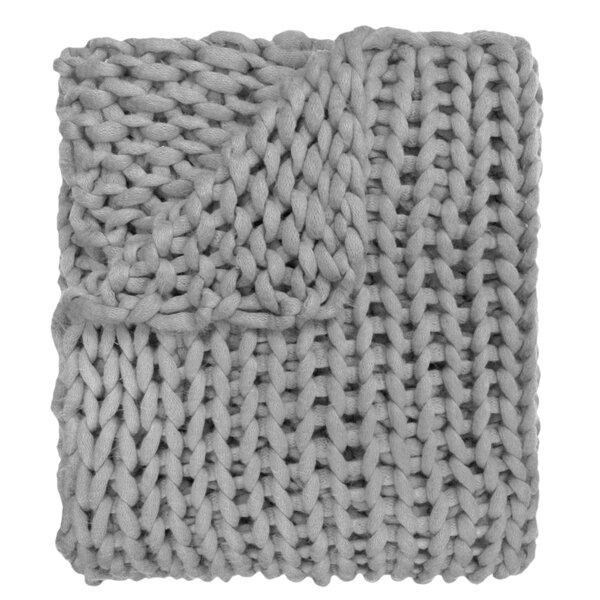 Chunky Knit Blanket | Wayfair