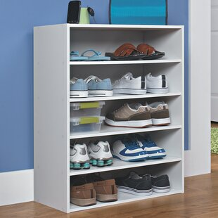 10 pair stackable shoe rack - Closet Shoe Rack