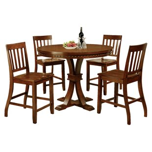 Jared 5 Piece Counter Height Dining Set