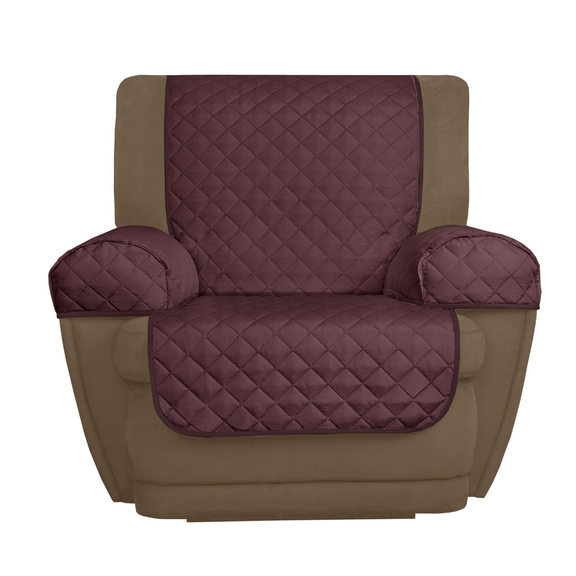 Maytex Buffalo Check T Cushion Recliner Slipcover Wayfair