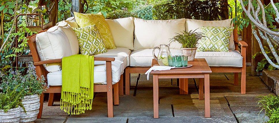 Small Space Patio Furniture | Birch Lane