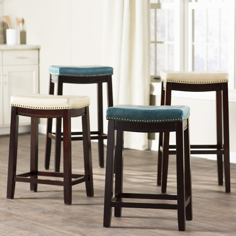 Three Posts Russett Bar Stool Reviews Wayfair