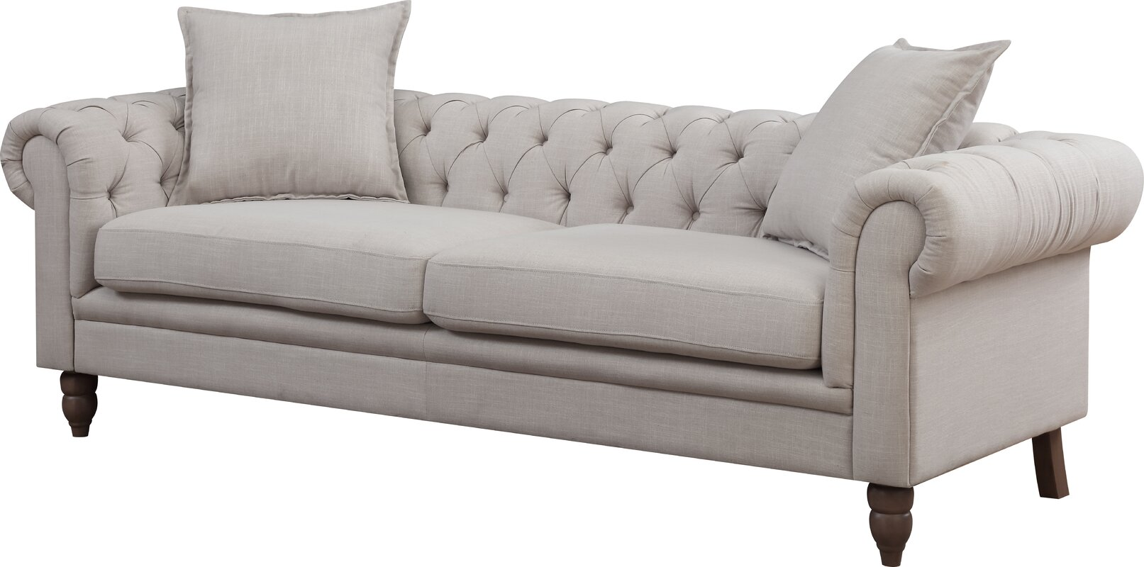 AC Pacific Juliet Chesterfield Sofa& Reviews Wayfair
