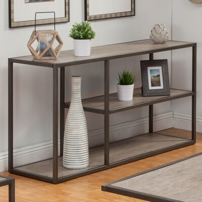 Brayden Studio Colburn Console Table Size: 30 H x 50 W x 18 D