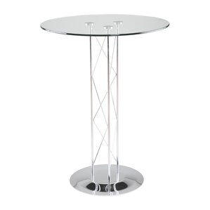 Berlanga Glam Dining Table with Glass Top..