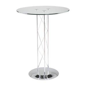Berlanga Glam Round Dining Table by Orren Ellis
