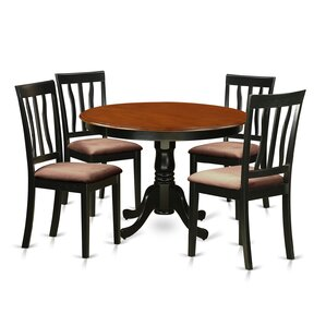 Hartland 5 Piece Dining Set by Wooden Importers