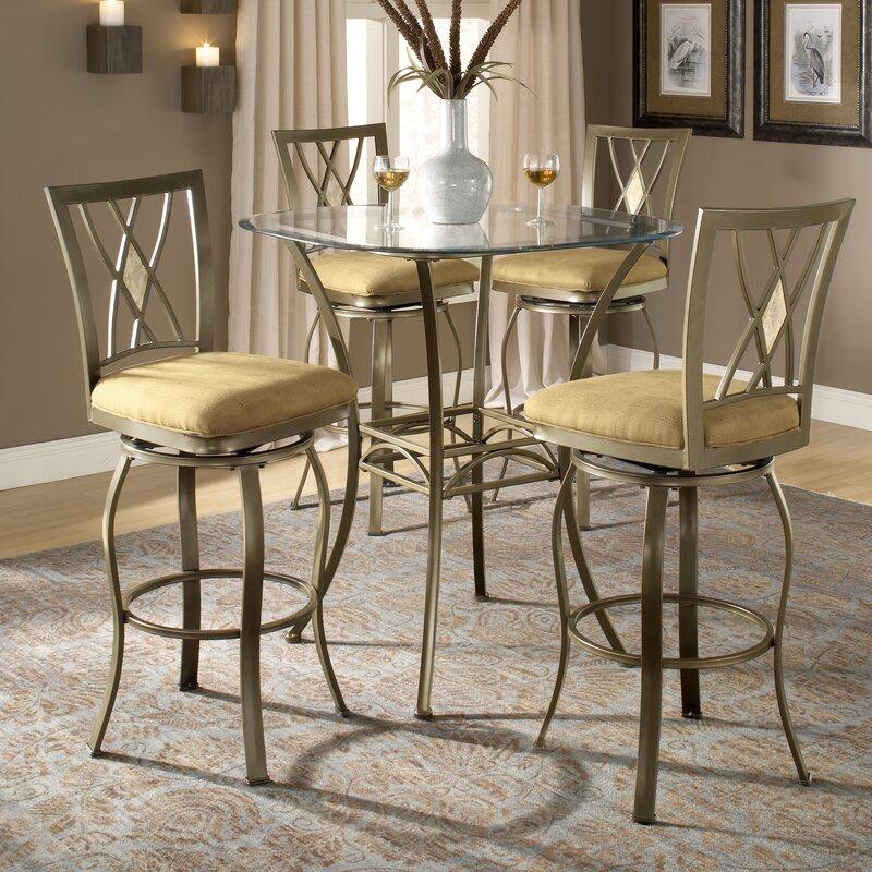 Dallas Bar Height Bistro Table Set