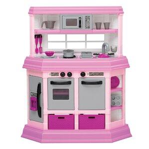 Wood Play Kitchen White play kitchen sets & accessories | wayfair