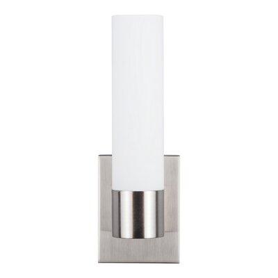 Orren Ellis Sternberg 1-Light LED Bath Sconce Finish: Brushed Nickel