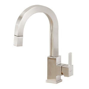 Lenova Single Handle Pull Down Kitchen Faucet with Side Spray