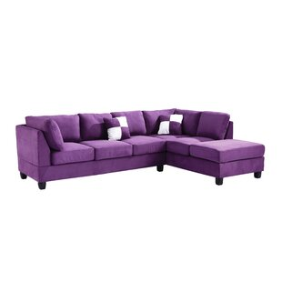 High Quality Purple Sectionals