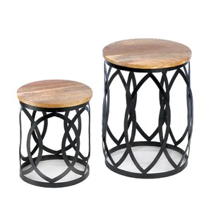 Signature Series 2 Piece Nesting Table Set b..