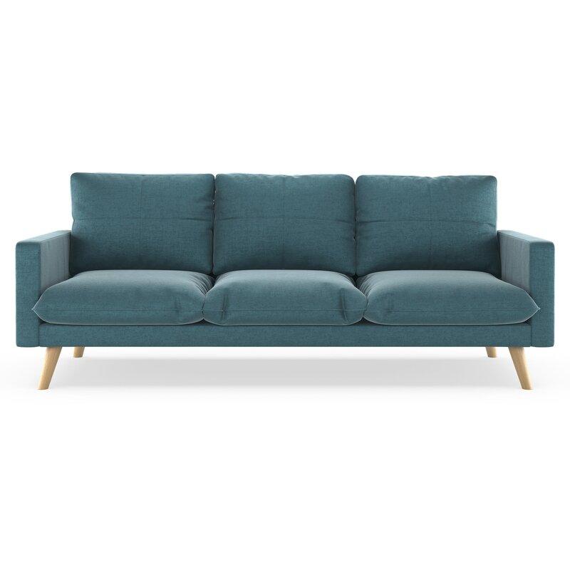 Marvelous Couture Mod Velvet Sofa