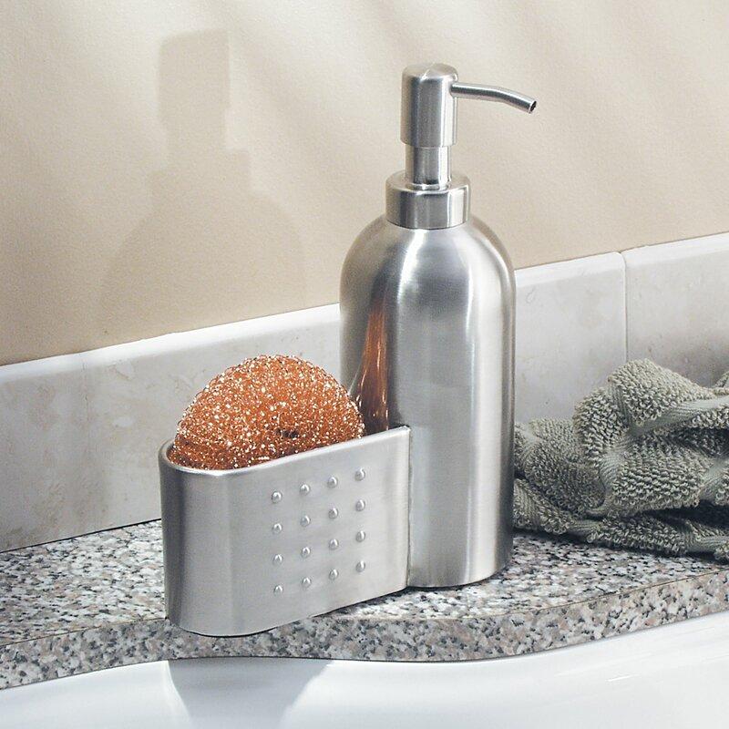 InterDesign Pump and Sponge Caddy Soap Dispenser   Wayfair
