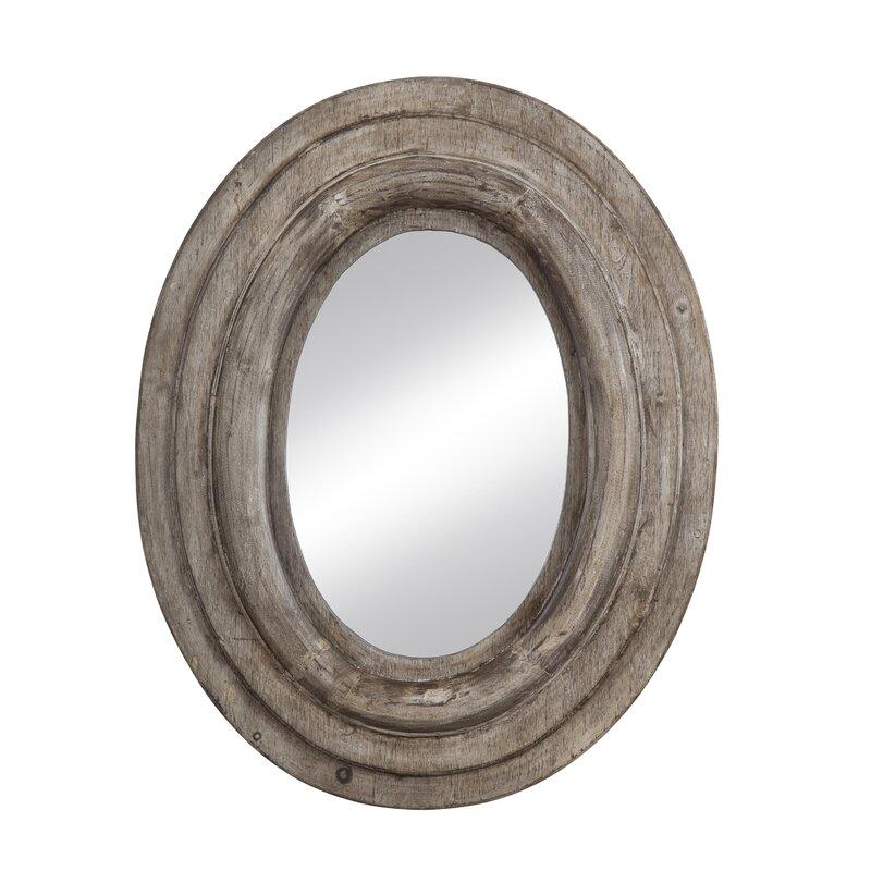 Monterey Oval Framed Wall Mirror & Reviews | Joss & Main