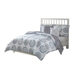 Acevedo 5 Piece Reversible Bed-In-a-Bag Set