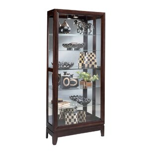 Urbane Lighted Curio Cabinet Savings