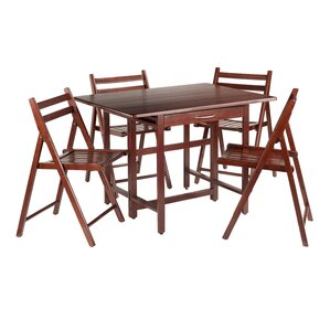 Culley 5 Piece Dining Set by Red Barrel Studio