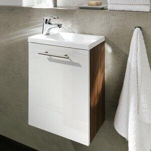 Posseik 40 cm Einzelwaschbeckenunterschrank-Set ..